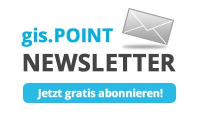 gis.POINT-Newsletter abonnieren
